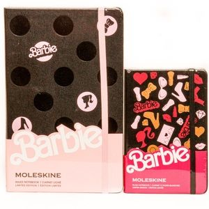 Moleskin Limited Edition Barbie Notebook 2 pc set